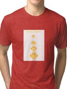 Easter Chicks Tri-blend T-Shirt