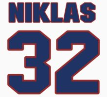 National Hockey player Niklas Backstrom jersey 32 by imsport