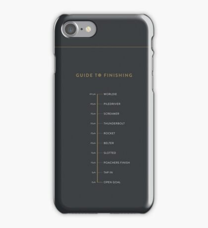 Football Cliche Guide to Finishing iPhone Case/Skin