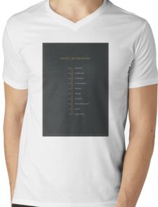 Football Cliche Guide to Finishing Mens V-Neck T-Shirt