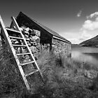 Boathouse, Cregennen, Snowdonia National Park, Wales by dotcomjohnny