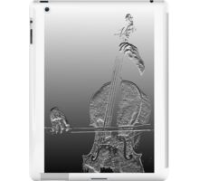 The Cello In Good Hands. iPad Case/Skin
