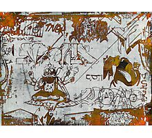 Universal Graffiti  Photographic Print