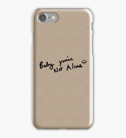 A Handwritten Reminder iPhone Case/Skin