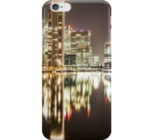Millwall Inner Dock (Canary Wharf) iPhone Case/Skin