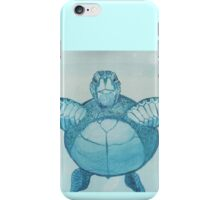 Blue Turtle iPhone Case/Skin