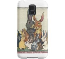 Easter Bunny Family Portrait Samsung Galaxy Case/Skin