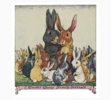 Easter Bunny Family Portrait Kids Clothes