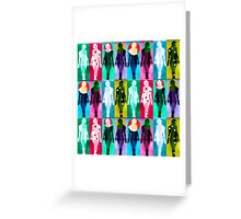 Body Language 26 Greeting Card