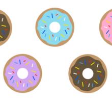 Doughnuts - Blue Sticker