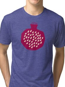 Garnet splash Tri-blend T-Shirt