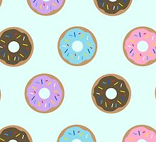 Doughnuts - Blue by kmacneil91