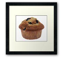 Blueberry Muffin Framed Print