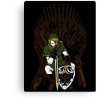 Game of Blades Canvas Print