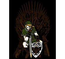 Game of Blades Photographic Print