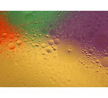 day 5: oil and water abstract Photographic Print