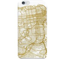 San Francisco map iPhone Case/Skin