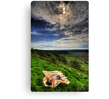 Murder On The Moor... Canvas Print