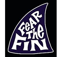 Fear the Fin - Bay State Sharks Girls Fastpitch Softball Photographic Print