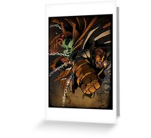 Spawn and Hellboy Greeting Card