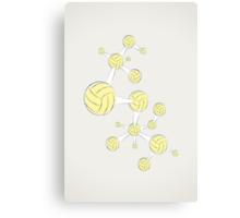 Soccer DNA Canvas Print