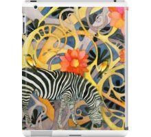 Lone Zebra iPad Case/Skin