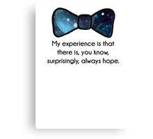 There's always hope Canvas Print