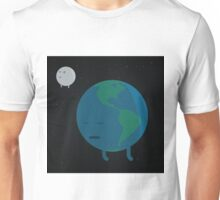 Earth napping with its sidekick Unisex T-Shirt