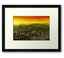 Doctor - Perrégaux evacuation hospital - At the end of a day Framed Print