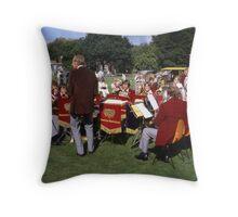 Rowntree Mackintosh Brass Band Throw Pillow