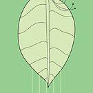 digital form - N01 - leaf by Jesse Bisset