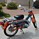 Honda Trail CT 90 by Stormygirl