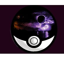 The World In A Pokeball Photographic Print