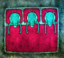waiting for a dream.. by Kuba Gornowicz