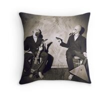Sins Of A Doppelganger - Envy Throw Pillow