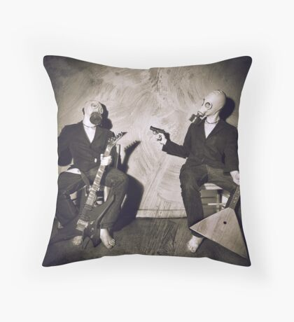 Sins Of A Doppelganger - Envy Throw Pillow