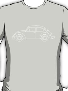 VW Beetle Blueprint T-Shirt