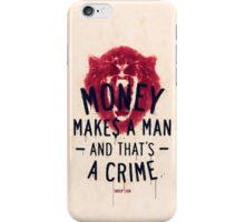 A CRIME (VARIANT) iPhone Case/Skin