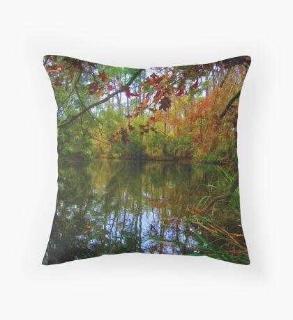 Bayou Fall Throw Pillow