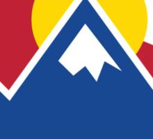 Colorado Sunset Sticker