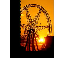 Sunset Dial Photographic Print