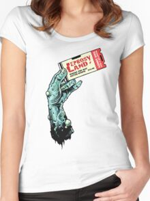 Leprosy Land! Women's Fitted Scoop T-Shirt