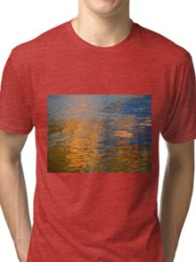 Colored Water - Abstract  (1505018669VA) Tri-blend T-Shirt
