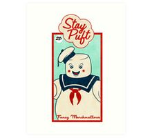 Ghostbusters (Stay Puft)  Art Print