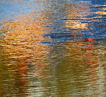 Colored Water - Abstract II  (1505018670VA) by photroen