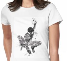 Spider-Man Splatter Art Womens Fitted T-Shirt