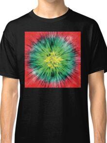 Colorful Vintage Tie Dye Classic T-Shirt