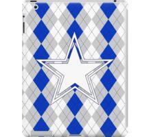 Argyle Dallas Cowboys iPad Case/Skin