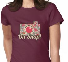 Oh Snap! Camera Womens Fitted T-Shirt