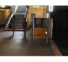Berlin U-Bahn Photographic Print